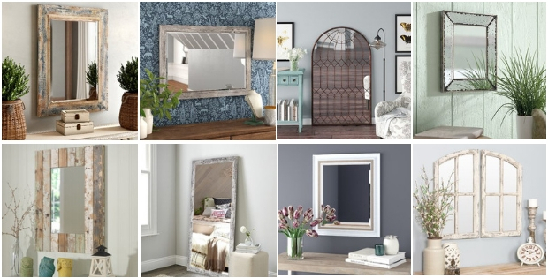 Farmhouse Mirrors – Farmhouse Goals For Polito Cottage/country Wall Mirrors (#8 of 20)