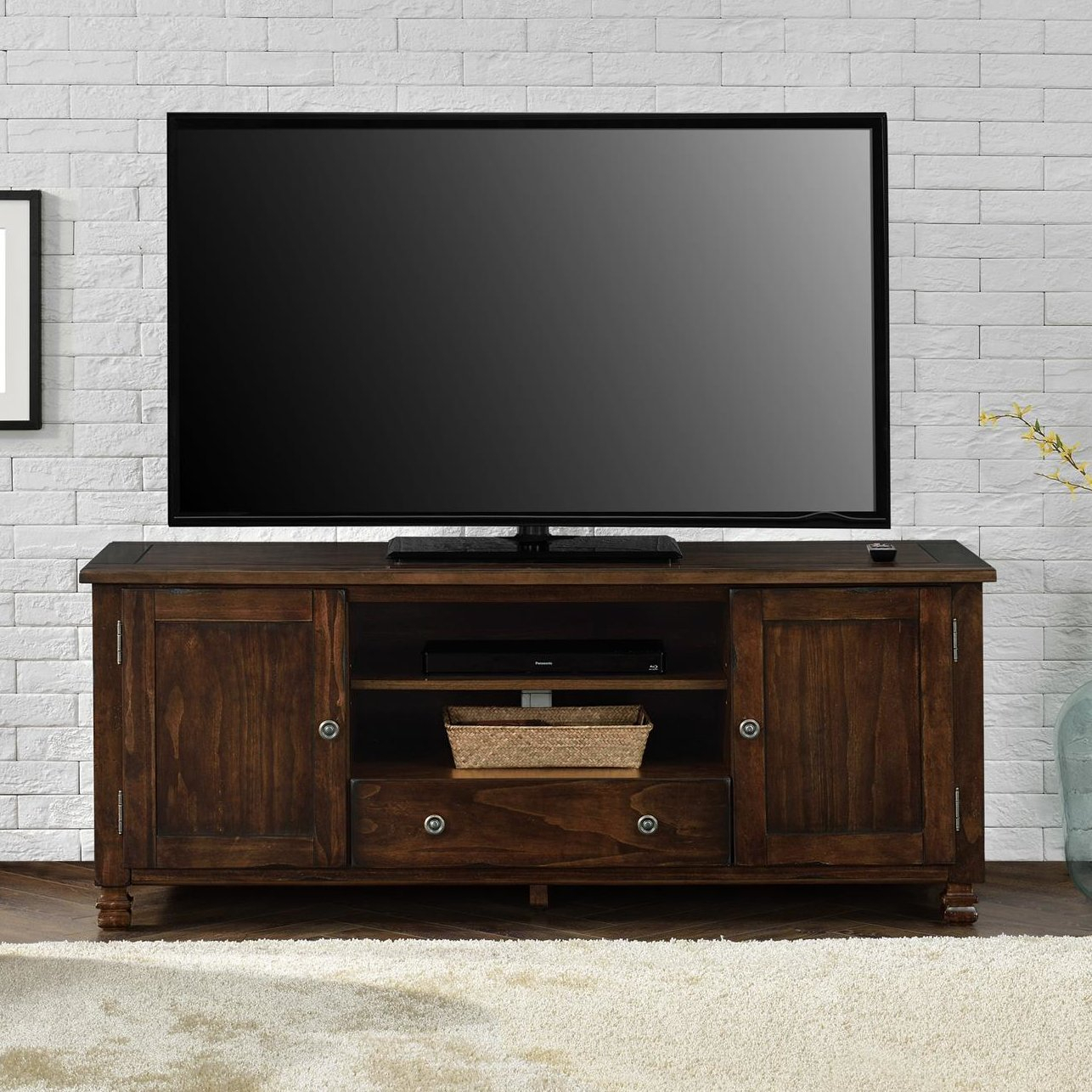 """Farmhouse & Rustic 60 64 Inch Tv Stands 