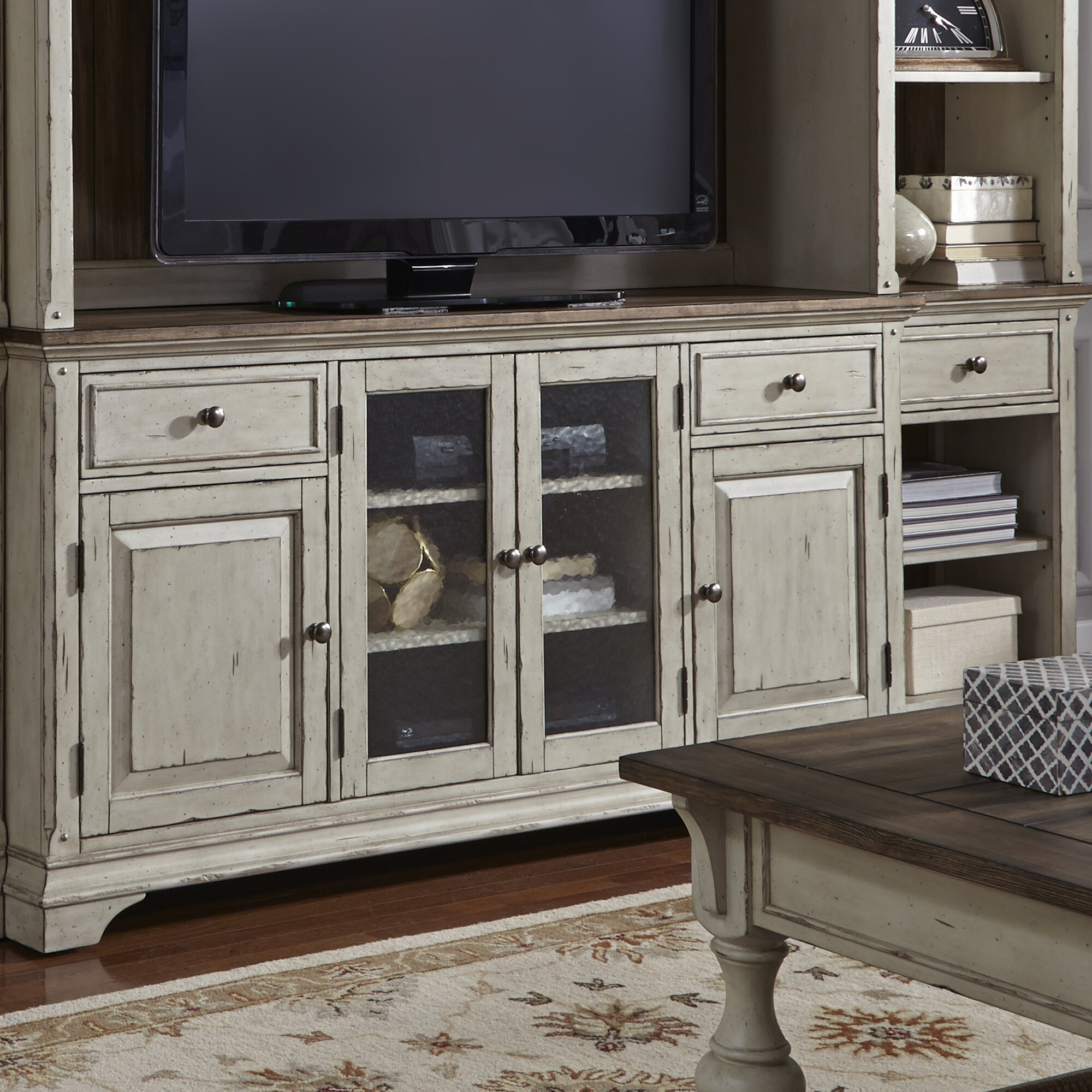 """Farmhouse & Rustic Rosecliff Heights Tv Stands 
