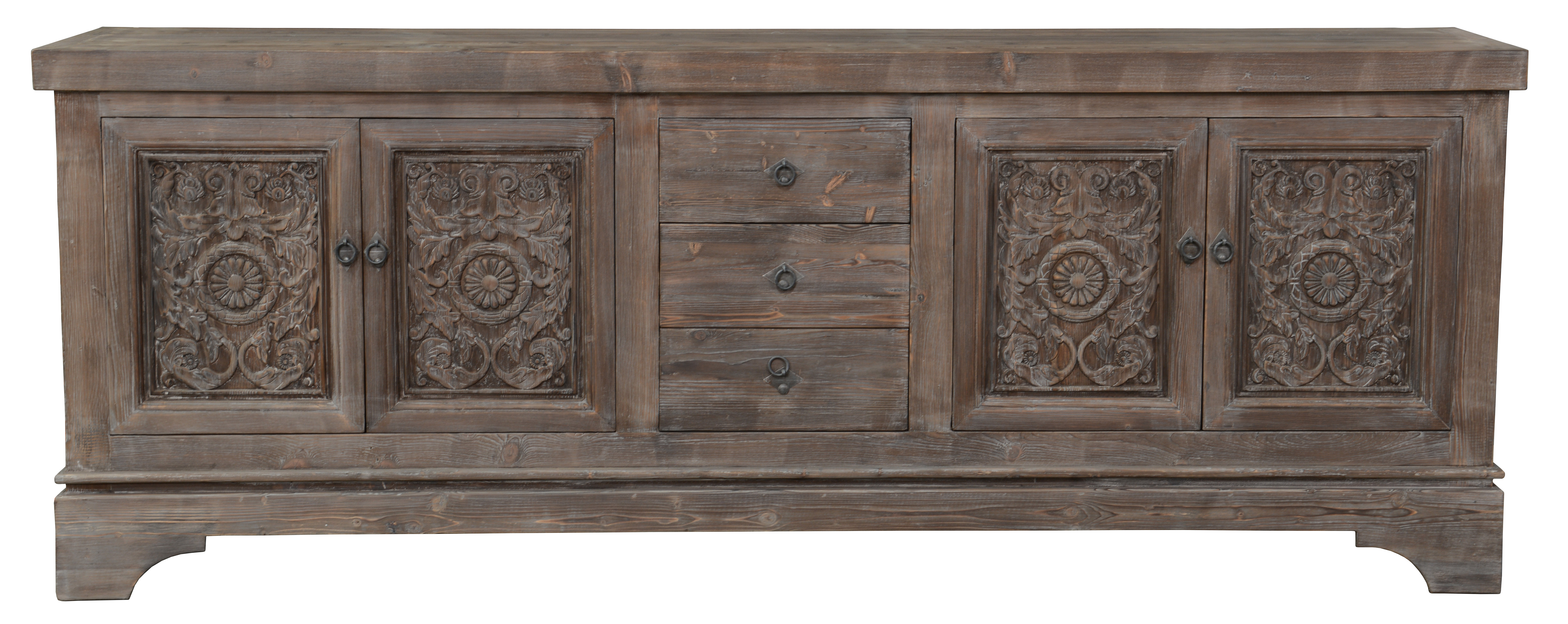 Farmhouse & Rustic Sideboards & Buffets   Birch Lane Pertaining To Most Current Ilyan Traditional Wood Sideboards (View 14 of 20)