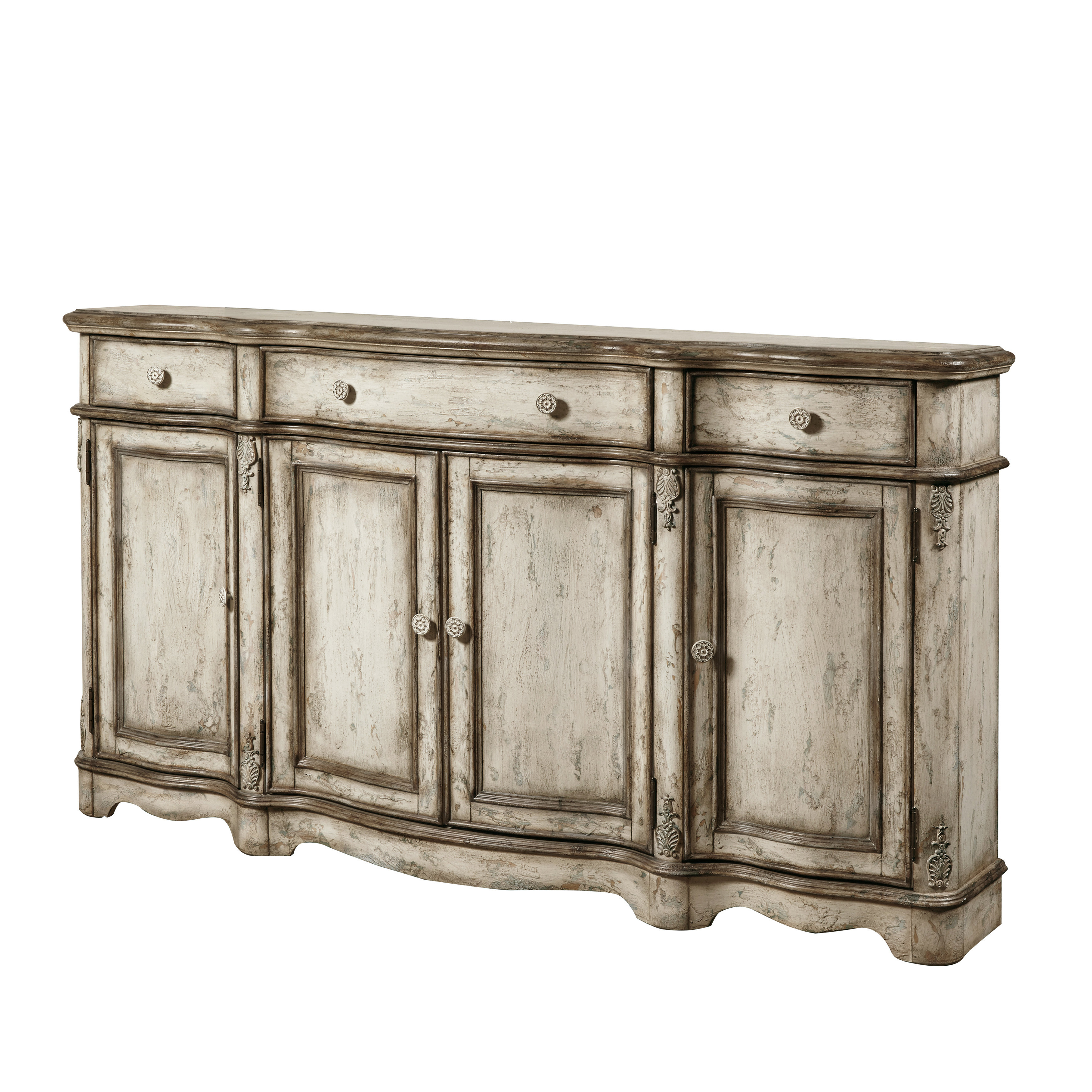 Farmhouse & Rustic Sideboards & Buffets | Birch Lane Throughout Newest Bremner Credenzas (#7 of 20)