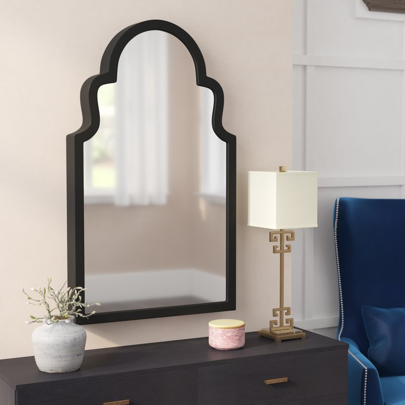 Fifi Contemporary Arch Wall Mirror Within Fifi Contemporary Arch Wall Mirrors (#13 of 20)
