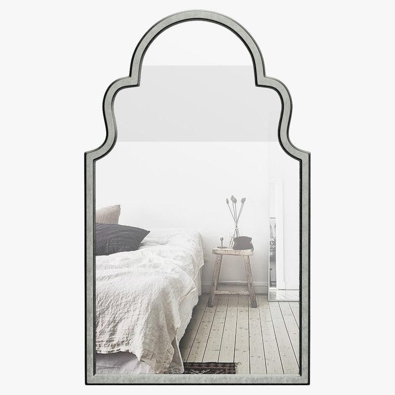 Fifi Contemporary Arch Wall Mirror Wrlo4605 Pertaining To Fifi Contemporary Arch Wall Mirrors (#15 of 20)