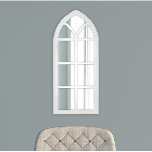 Fiscus Windowpane Wall Accent Mirror Intended For 2 Piece Kissena Window Pane Accent Mirror Sets (#12 of 20)