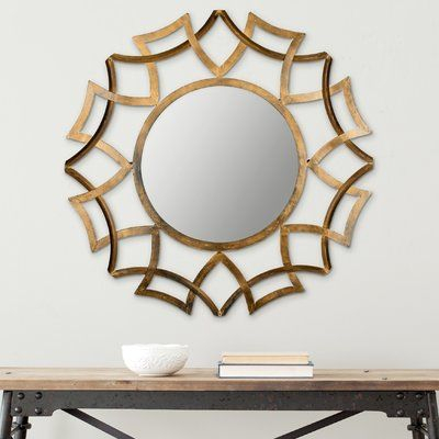 Fleur De Lis Living Newtown Wall Mirror | Products | Antique With Regard To Brylee Traditional Sunburst Mirrors (View 15 of 20)