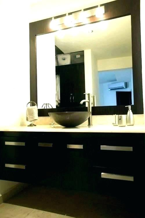 Frameless Bathroom Mirror – Shainawelk (#13 of 20)