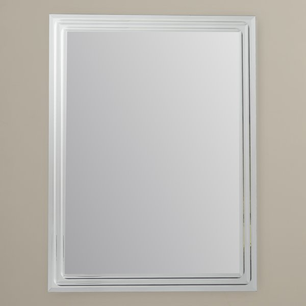 Frameless Tri Beveled Mirror | Wayfair Pertaining To Lidya Frameless Beveled Wall Mirrors (#5 of 20)