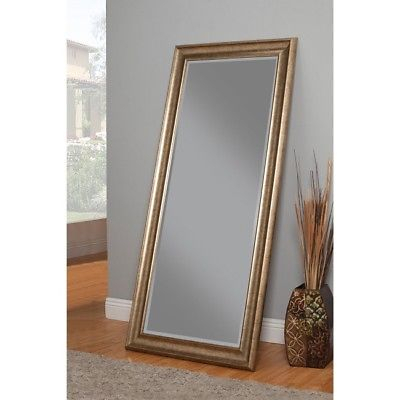 Full Length Mirror Leaning Mirrors Wall Mounted Tall Standing Floor Framed  Women 727737989902 | Ebay Inside Leaning Mirrors (#10 of 20)