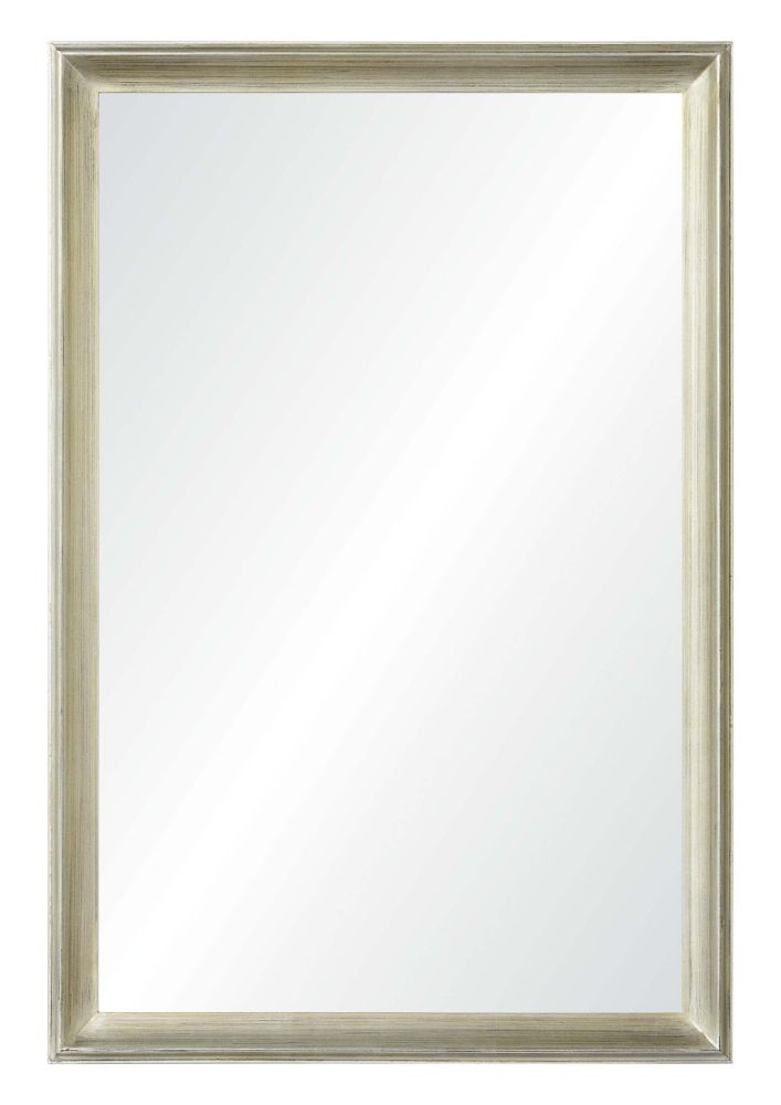 Inspiration about Gaspar Traditional Framed Wall Mirror Regarding Swagger Accent Wall Mirrors (#15 of 20)
