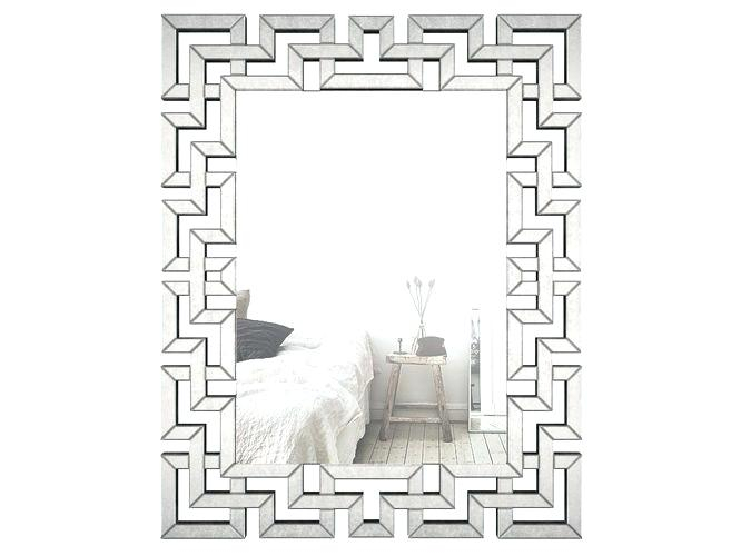 Inspiration about Geometric Wall Mirror – Retalix With Regard To Rectangle Ornate Geometric Wall Mirrors (#6 of 20)