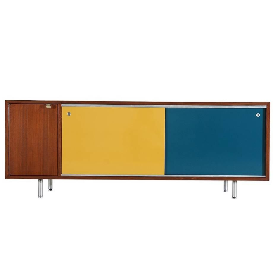 Inspiration about George Nelson Multi Color Credenza For Herman Miller Within Most Recent Womack Sideboards (#9 of 20)