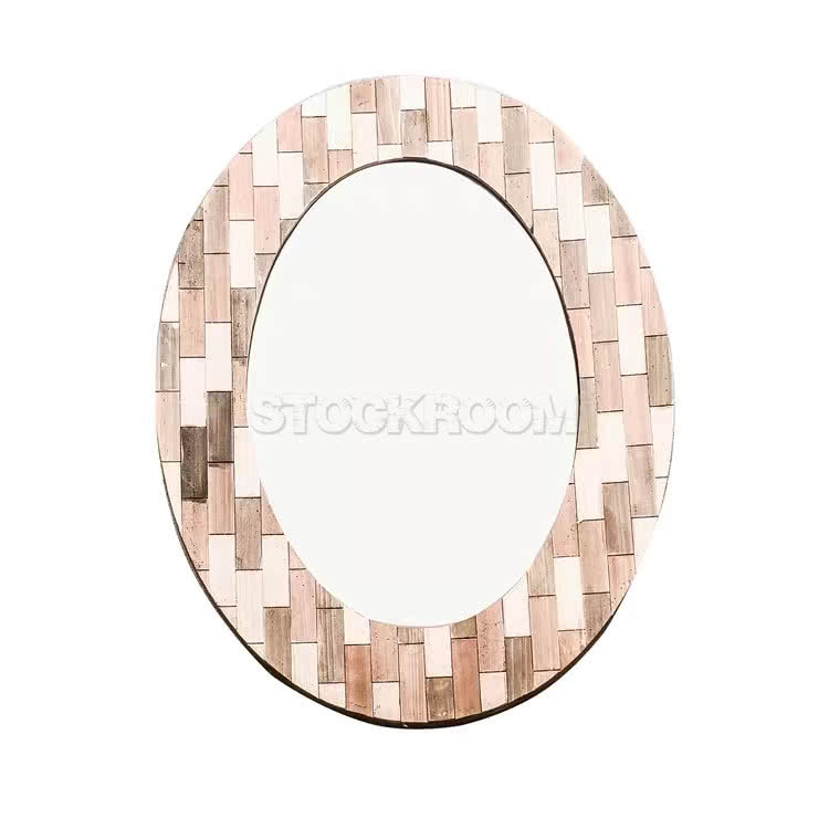 Inspiration about Georgine Oval Wood Accent Mirror Within Wood Accent Mirrors (#14 of 20)