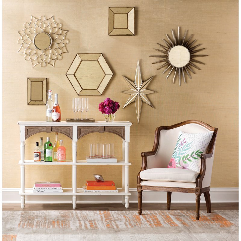 Inspiration about Gia Hexagon Accent Mirror For Gia Hexagon Accent Mirrors (#15 of 20)