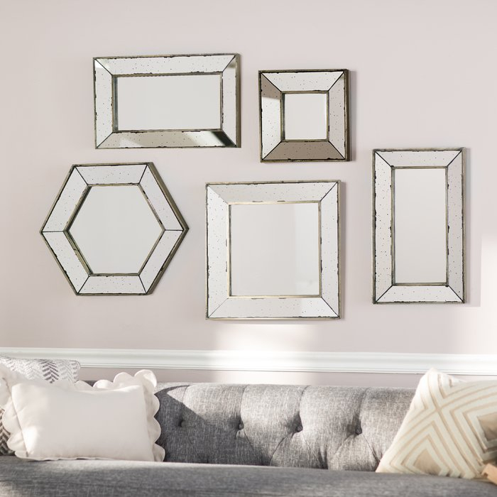 Inspiration about Gia Hexagon Accent Mirror For Gia Hexagon Accent Mirrors (#7 of 20)