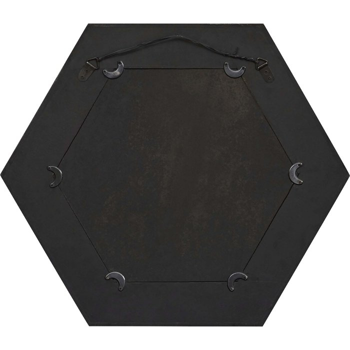 Inspiration about Gia Hexagon Accent Mirror Intended For Gia Hexagon Accent Mirrors (#16 of 20)