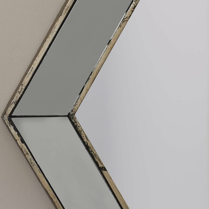 Inspiration about Gia Hexagon Accent Mirror Pertaining To Gia Hexagon Accent Mirrors (#6 of 20)