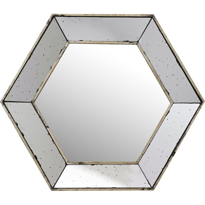Inspiration about Gia Hexagon Accent Mirror Pertaining To Gia Hexagon Accent Mirrors (#4 of 20)