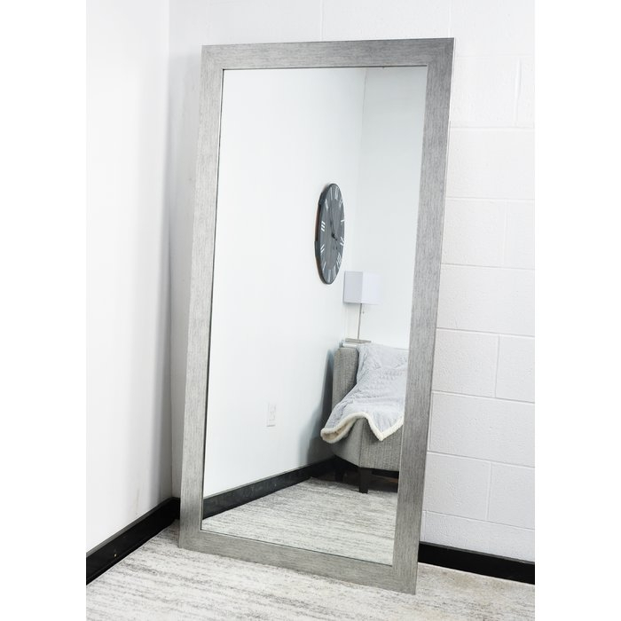 Inspiration about Giannone Grain Full Modern & Contemporary Length Mirror Regarding Handcrafted Farmhouse Full Length Mirrors (#14 of 20)