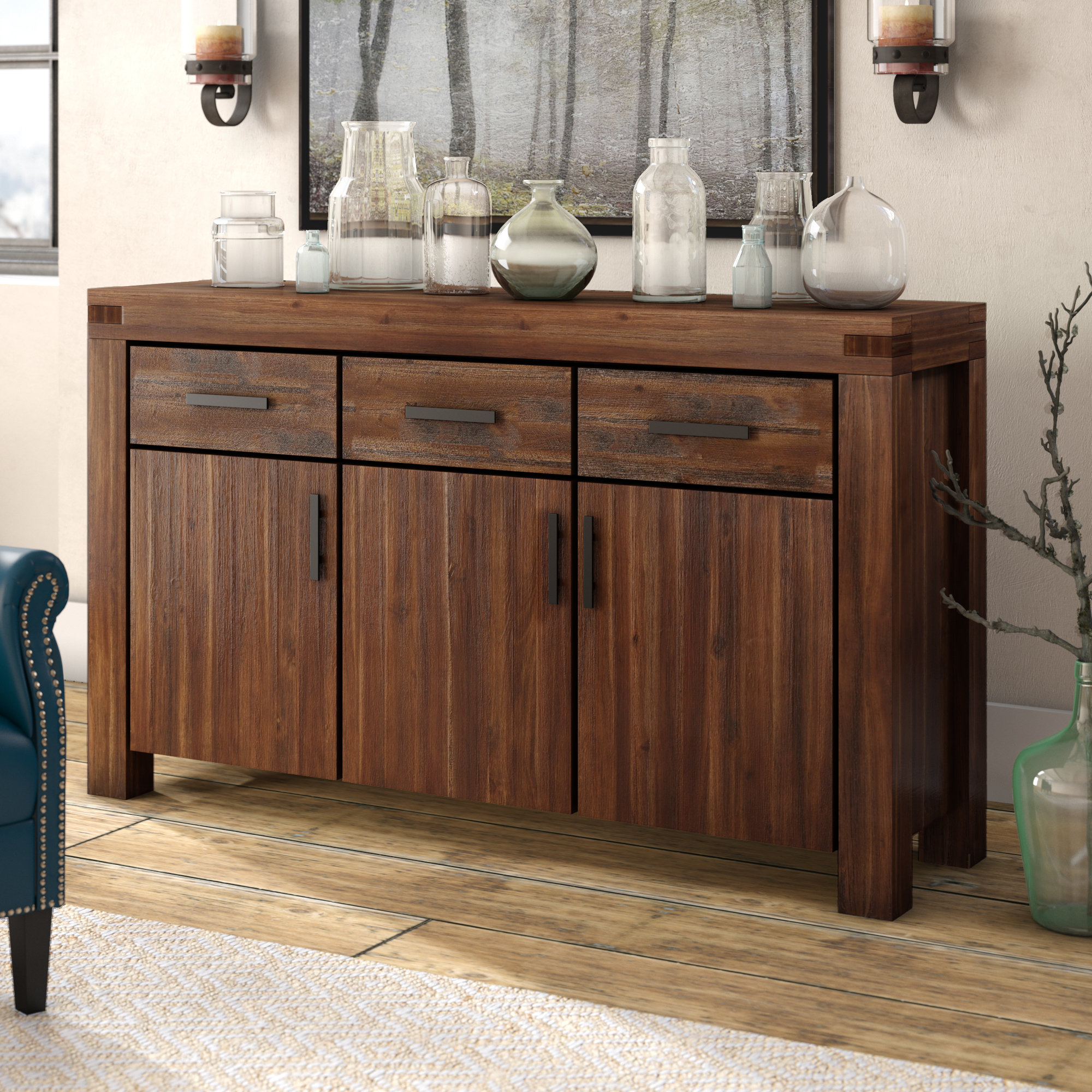 Inspiration about Gibson Sideboard With 2017 Alegre Sideboards (#3 of 20)