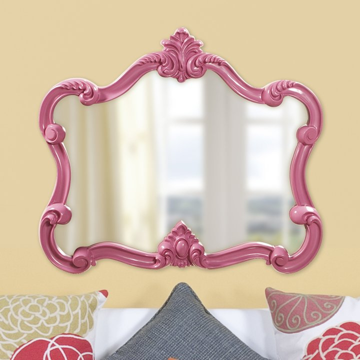 Gingerich Resin Modern & Contemporary Accent Mirror Intended For Menachem Modern & Contemporary Accent Mirrors (#2 of 20)