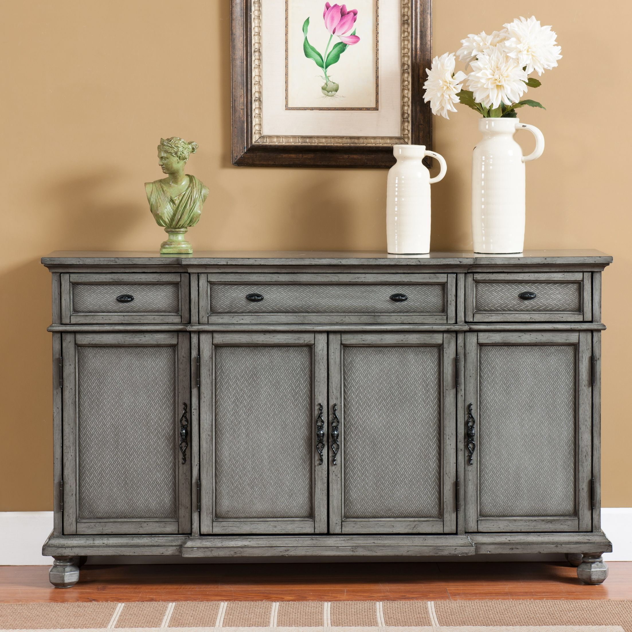 Giulia 3 Drawer Credenza | Tables & Chairs | Credenza In Current Giulia 3 Drawer Credenzas (View 3 of 20)