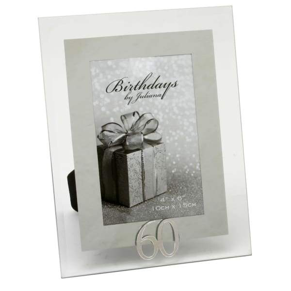 "Inspiration about Glass & Mirror 60Th Birthday Photo Framejuliana – 4"" X 6"" With Juliana Accent Mirrors (#12 of 20)"
