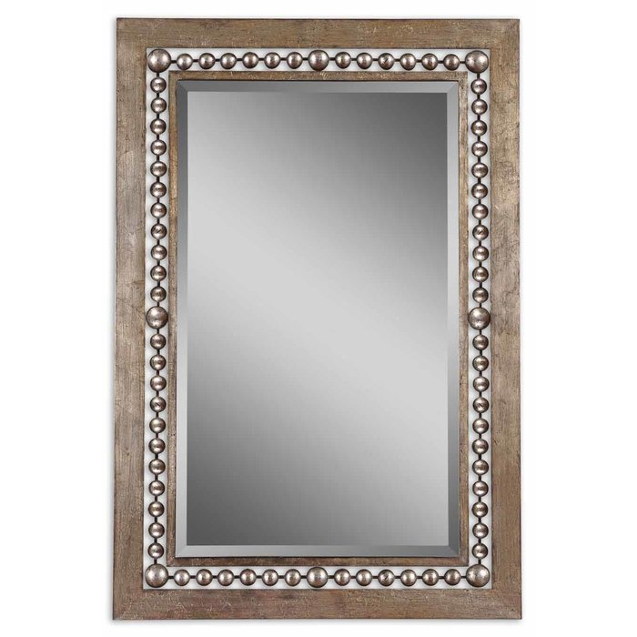 Global Inspired Metal Wall Mirror For Boyers Wall Mirrors (View 10 of 20)