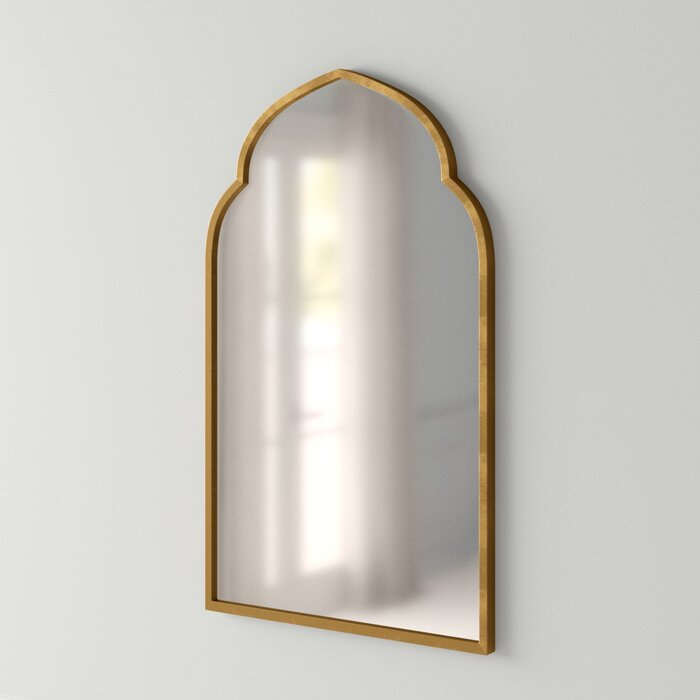 Inspiration about Gold Arch Wall Mirror For Gold Arch Wall Mirrors (#6 of 20)