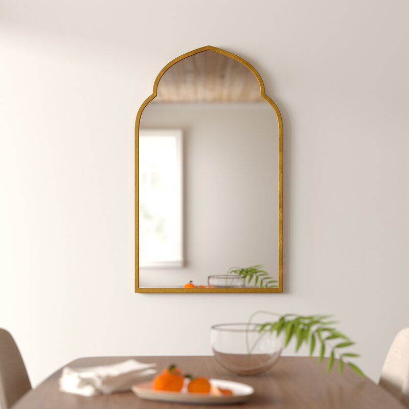 Inspiration about Gold Arch Wall Mirror Inside Fifi Contemporary Arch Wall Mirrors (#14 of 20)