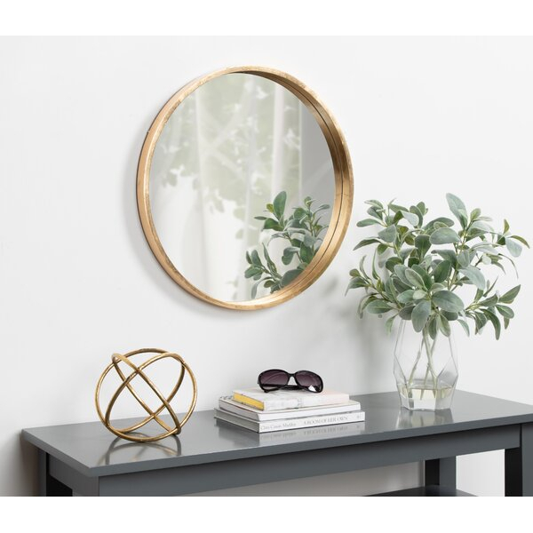 Inspiration about Gold Trim Mirror | Wayfair In Swagger Accent Wall Mirrors (#13 of 20)