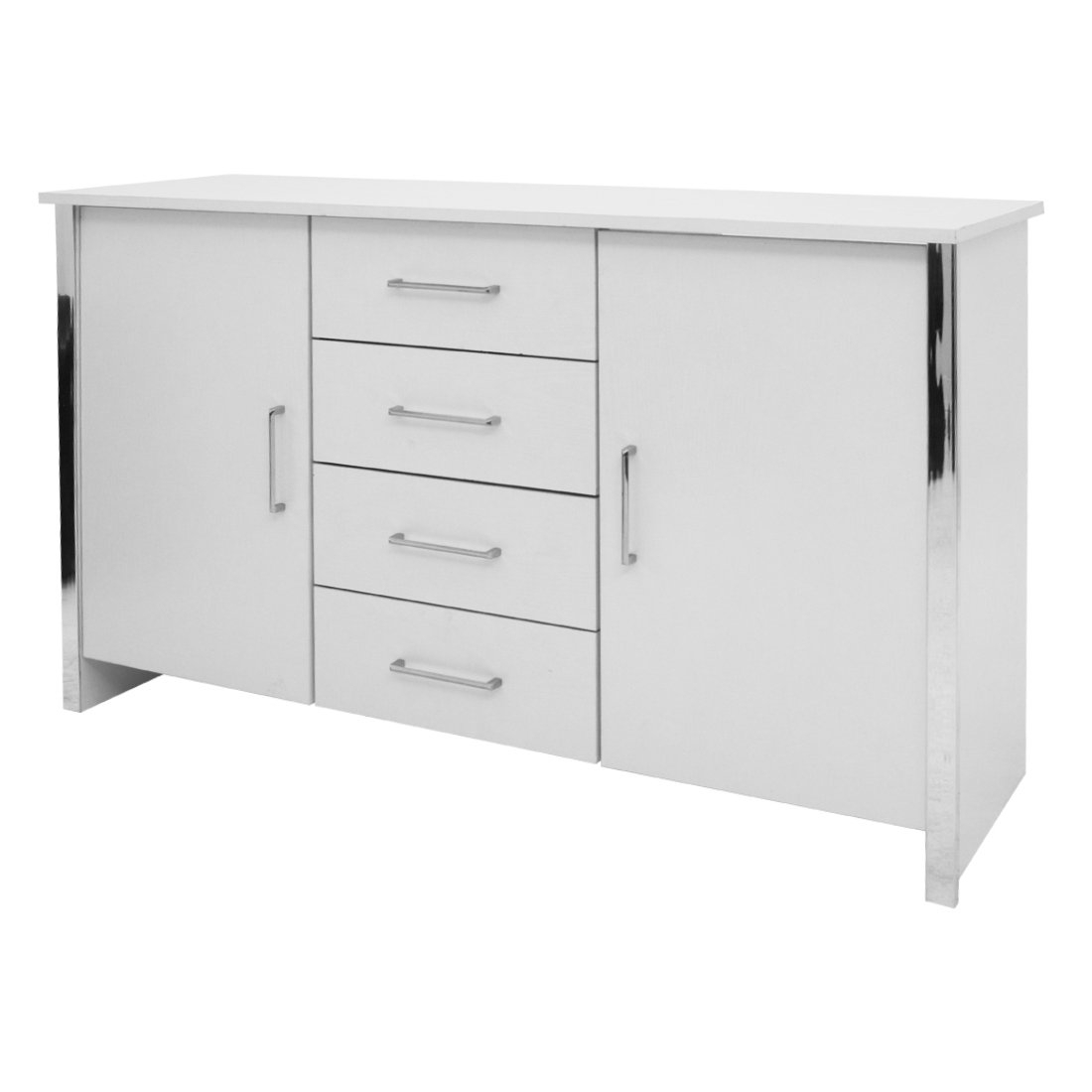 Inspiration about Gosport 2 Door / 4 Drawer Sideboard – White Ash — Online With Most Up To Date Gosport Sideboards (#13 of 20)