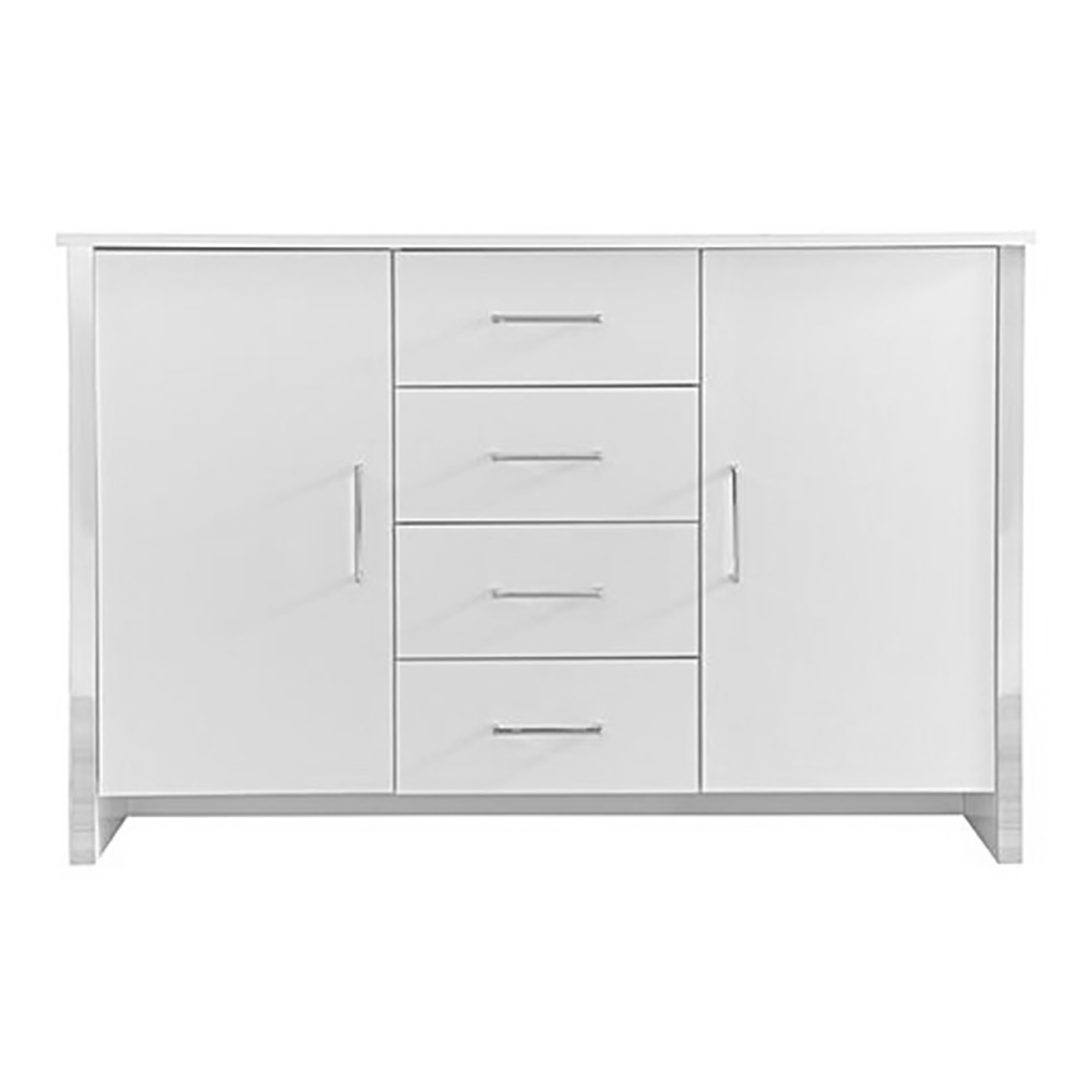 Gosport 2 Door / 4 Drawer Sideboard – White Ash — Online With Most Up To Date Gosport Sideboards (View 2 of 20)