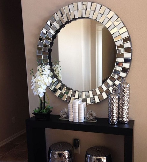 Inspiration about Gracey Round Wall Mirrorvenetian Design For Round Eclectic Accent Mirrors (#12 of 20)