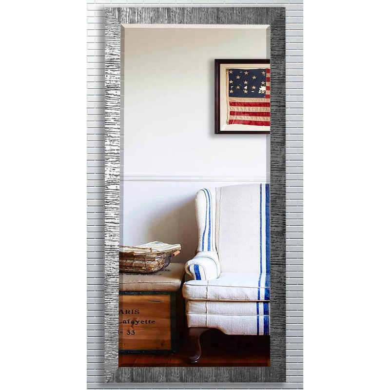 Grain Texture Modern & Contemporary Beveled Wall Mirror For Modern & Contemporary Beveled Wall Mirrors (View 17 of 20)