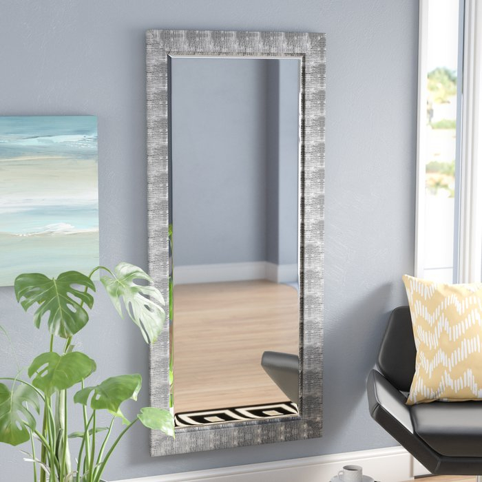 Inspiration about Grain Texture Modern & Contemporary Beveled Wall Mirror Throughout Epinal Shabby Elegance Wall Mirrors (#18 of 20)