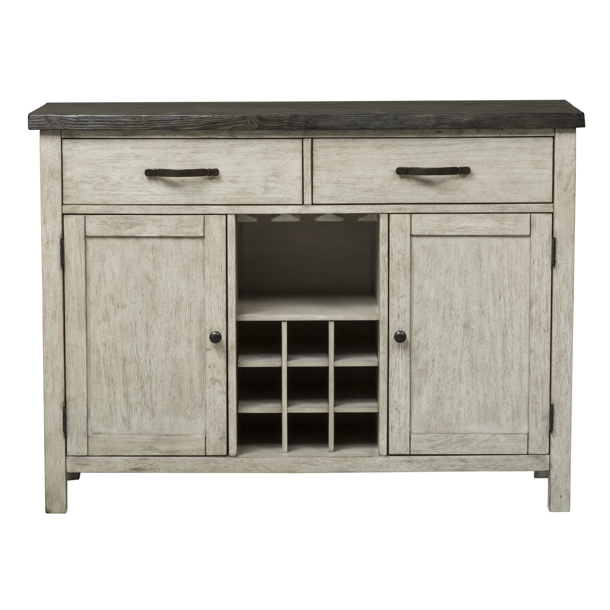 Inspiration about Gray Wood Sideboards & Buffets | Joss & Main Throughout Most Up To Date Fugate 2 Door Credenzas (#12 of 20)