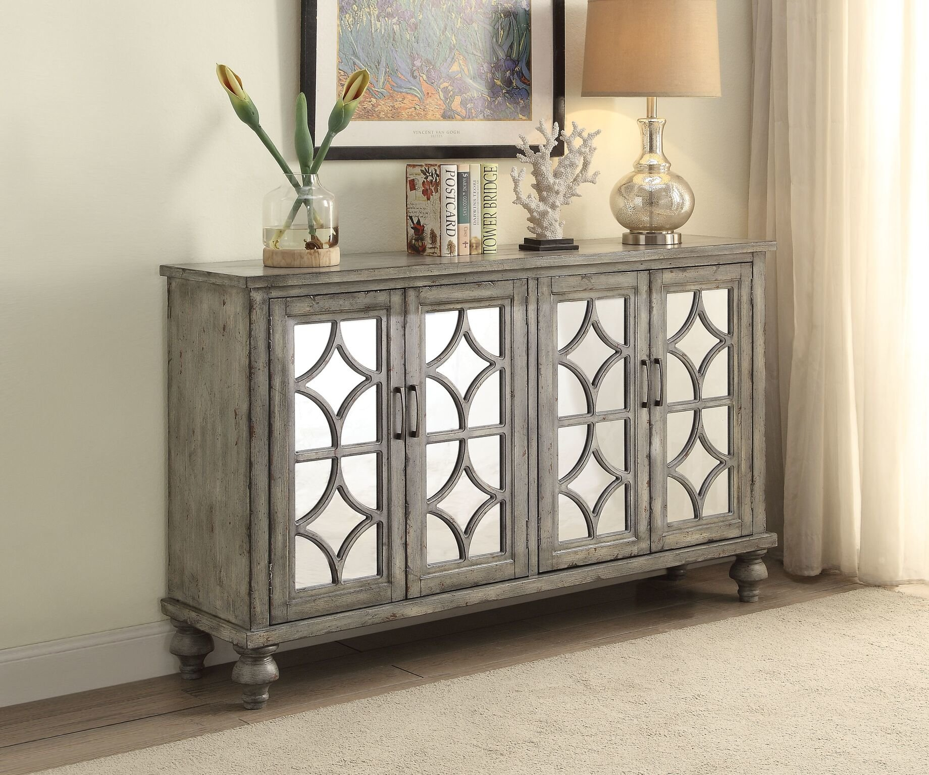 Inspiration about Grey Sideboards & Buffets | Joss & Main Pertaining To Most Popular Candide Wood Credenzas (#10 of 20)