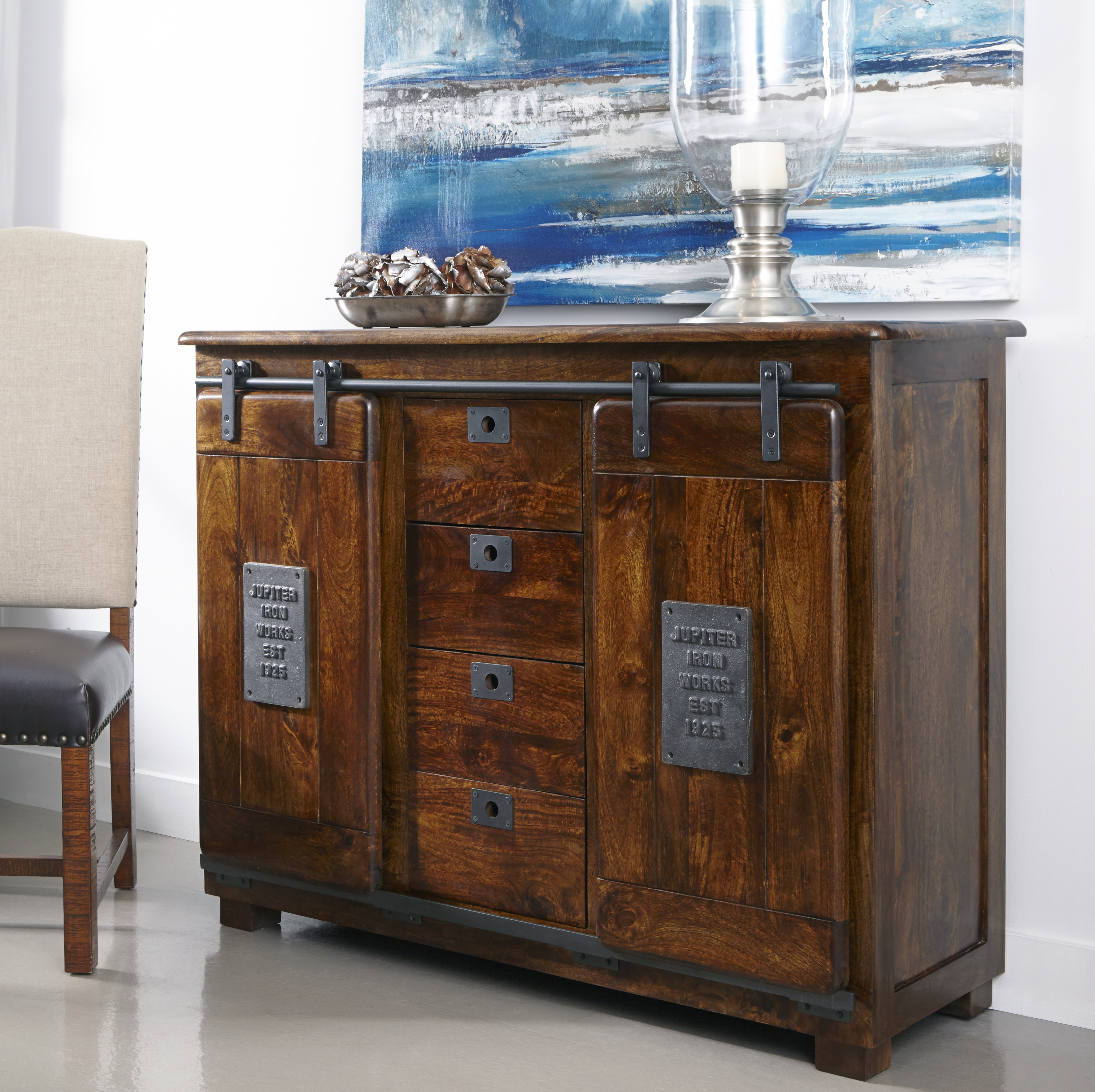 Inspiration about Guglielmo 2 Door 4 Drawer Sideboard Throughout Most Current Drummond 3 Drawer Sideboards (#18 of 20)