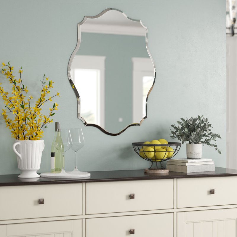 Inspiration about Guidinha Modern & Contemporary Accent Mirror Intended For Needville Modern & Contemporary Accent Mirrors (#14 of 20)