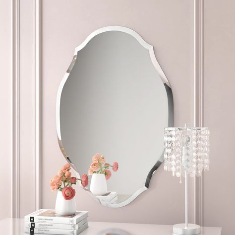 Inspiration about Guidinha Modern & Contemporary Accent Mirror Within Broadmeadow Glam Accent Wall Mirrors (#16 of 20)