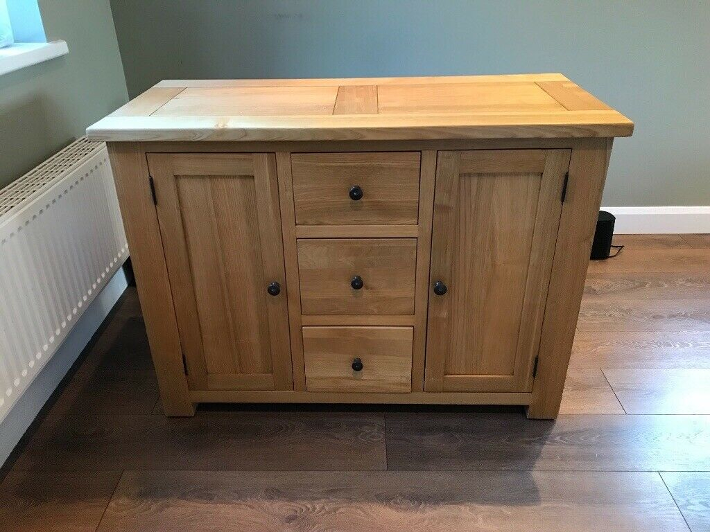 Halo Light Oak 3 Drawer & 2 Door Sideboard | In York, North Yorkshire |  Gumtree Pertaining To Most Recent North York Sideboards (#5 of 20)