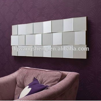 Handmade Modern Living Room Rectangle Wall Mirrors, View Dining Room Wall  Mirror, Dgwangsheng Product Details From Dongguan Wangsheng Mirror  Furniture With Regard To Modern Rectangle Wall Mirrors (#9 of 20)
