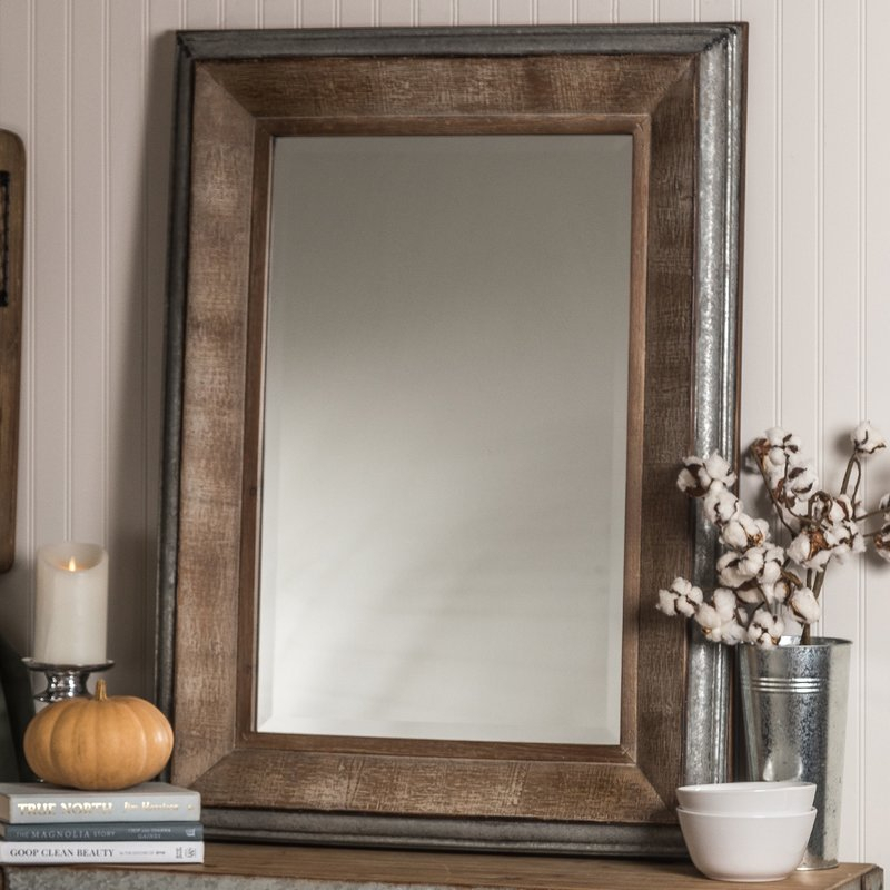 Hatten Modern & Contemporary Beveled Accent Mirror Intended For Modern & Contemporary Beveled Accent Mirrors (#5 of 20)