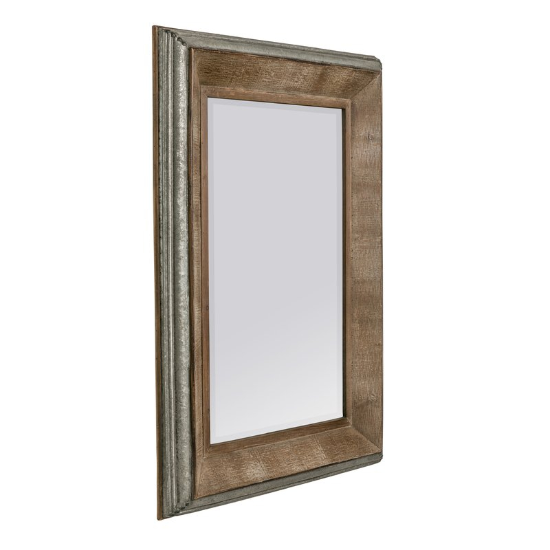 Hatten Modern & Contemporary Beveled Accent Mirror Pertaining To Modern & Contemporary Beveled Accent Mirrors (#6 of 20)