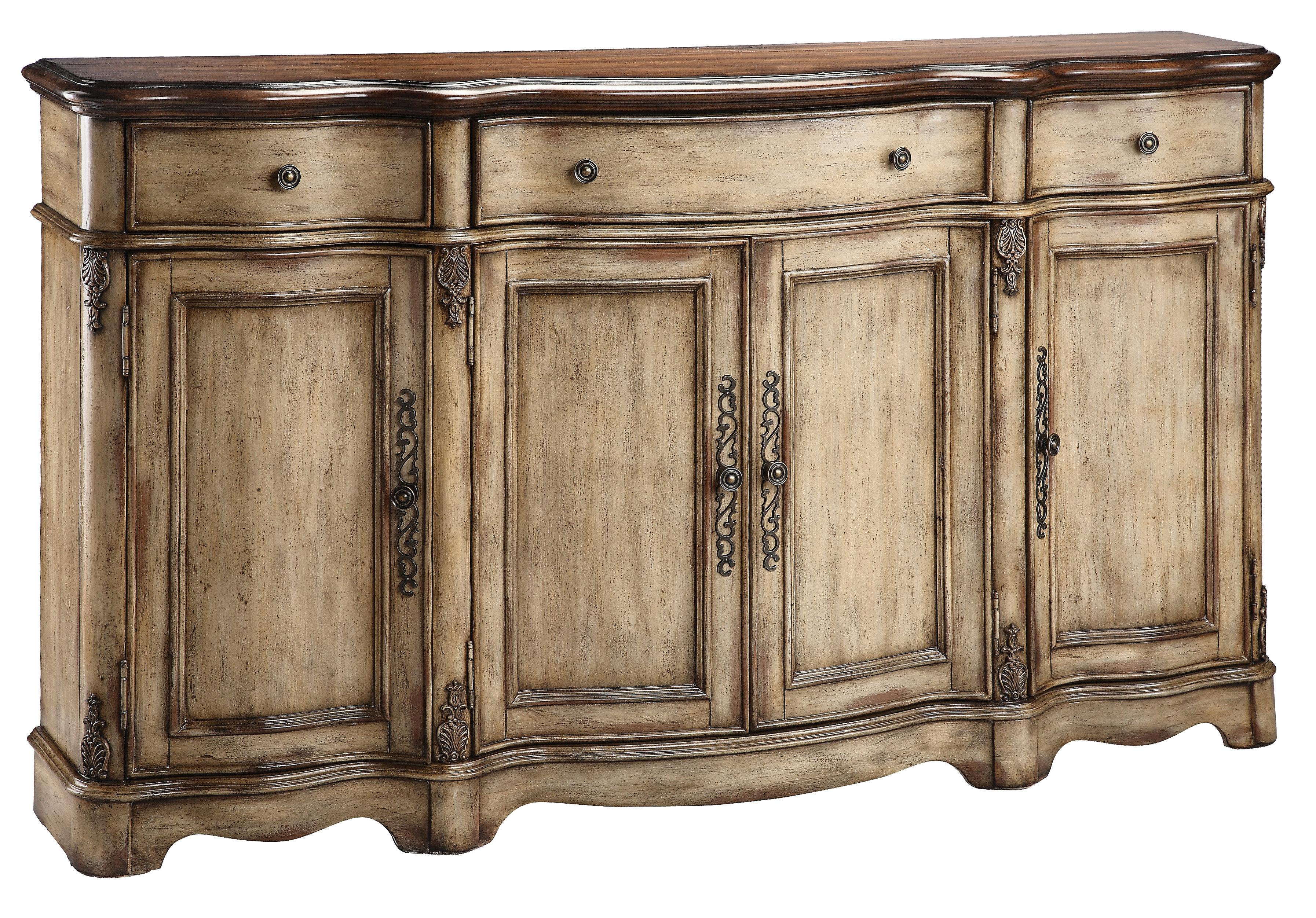 Hayslett Sideboard Regarding 2017 Ilyan Traditional Wood Sideboards (View 2 of 20)