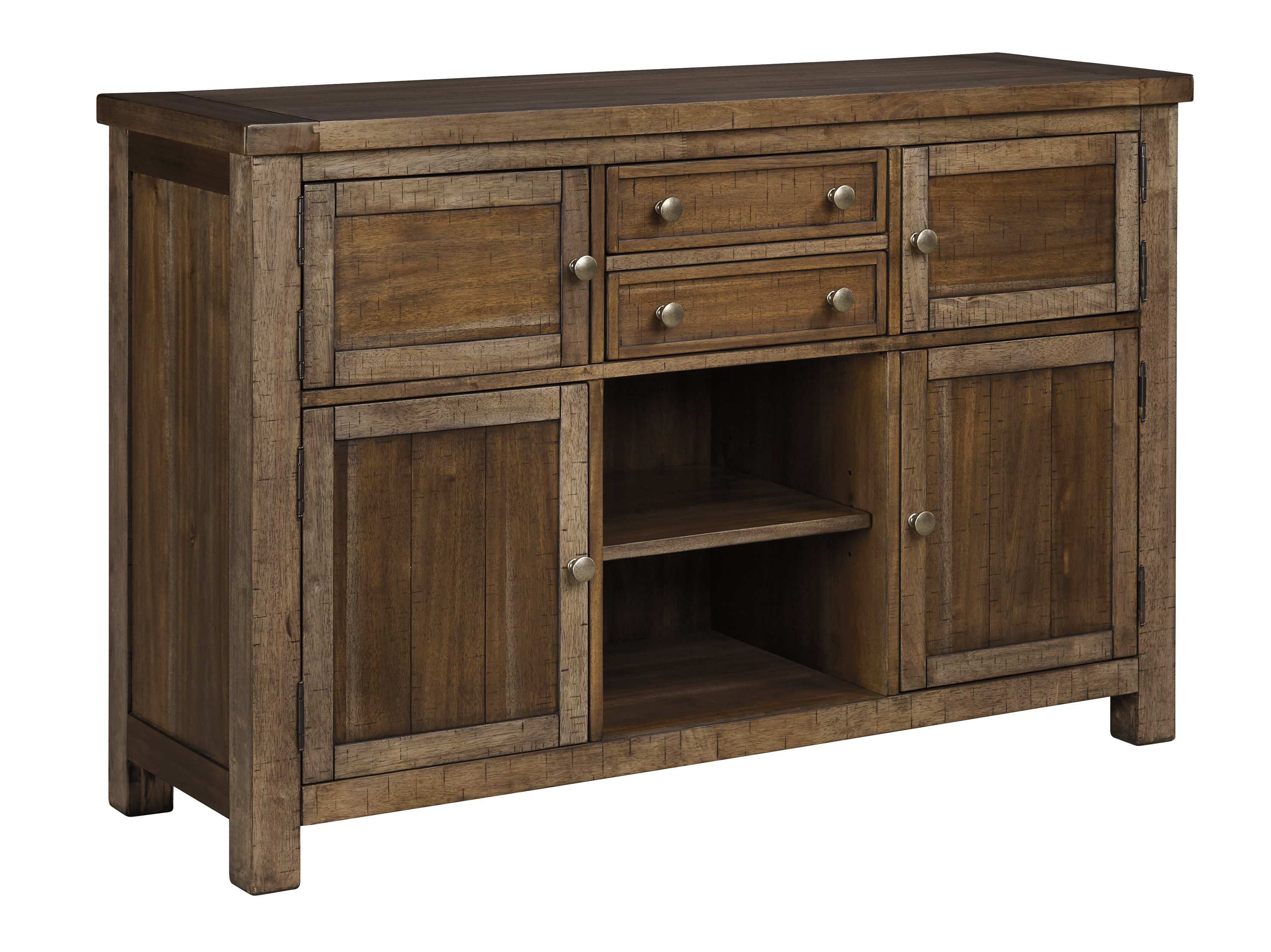 Hillary Dining Room Buffet Table Within Latest Whitten Sideboards (#8 of 20)