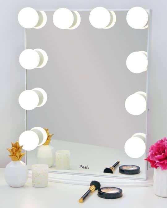 Hollywood Vanity Mirror Infinite Throughout Vanity Mirrors (View 18 of 20)