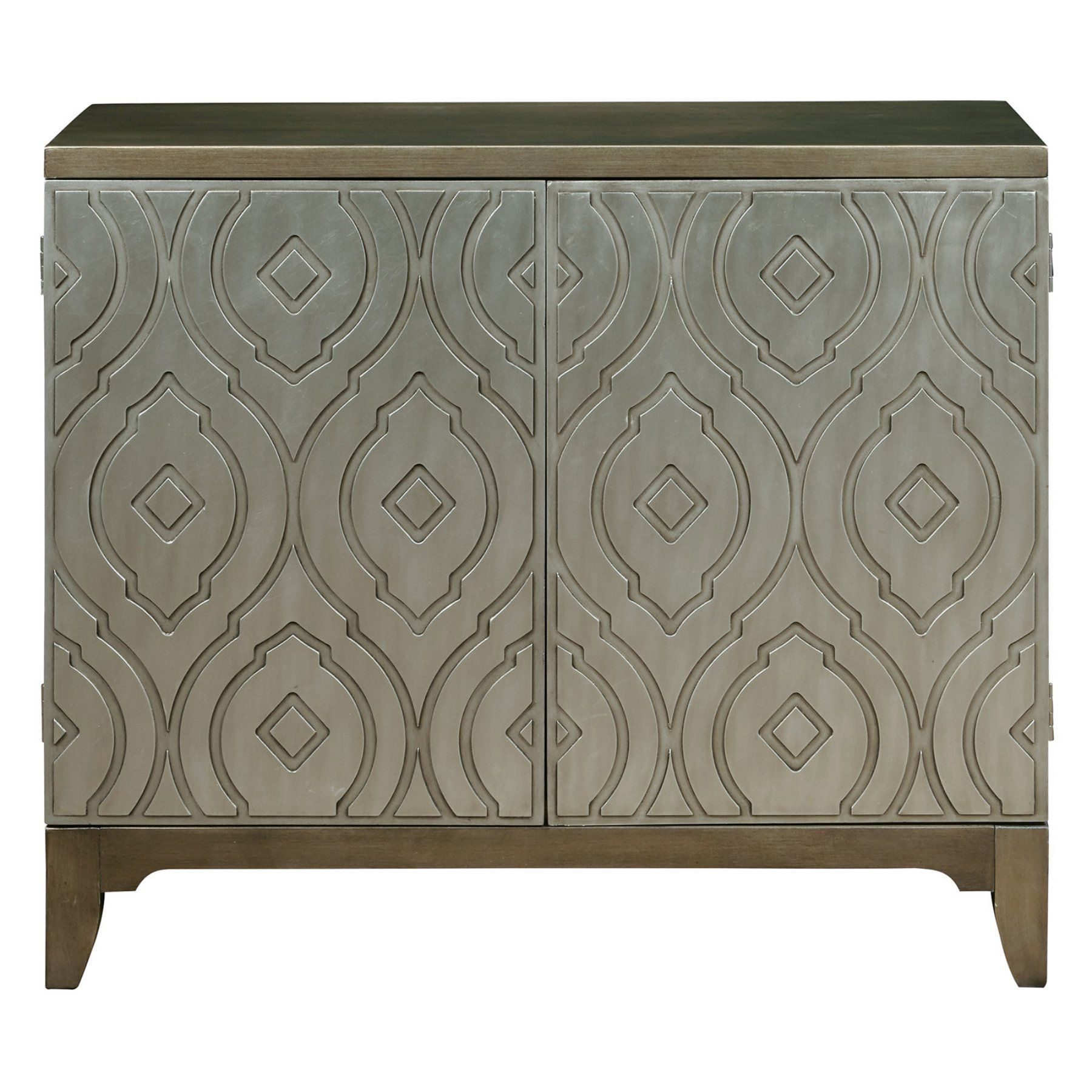 Home Meridian Imperial Metallic Bar Cabinet – Ds P050122 Regarding Most Up To Date Lainey Credenzas (#12 of 20)