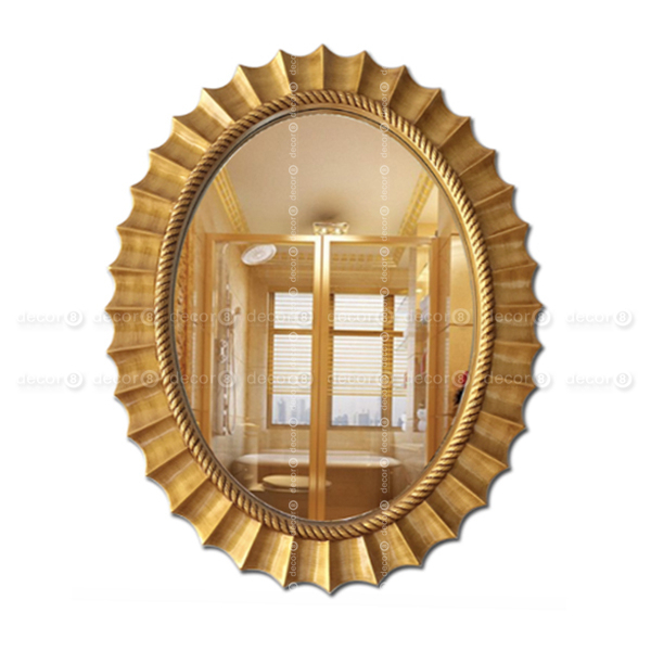 Hong Kong Accent Mirrors You'll Love | Decor8 | Hk Mirrors & Wall Decor | Aston Nautical Rope Frame Oval Accent Mirror – Antique Gold Intended For Accent Mirrors (View 19 of 20)