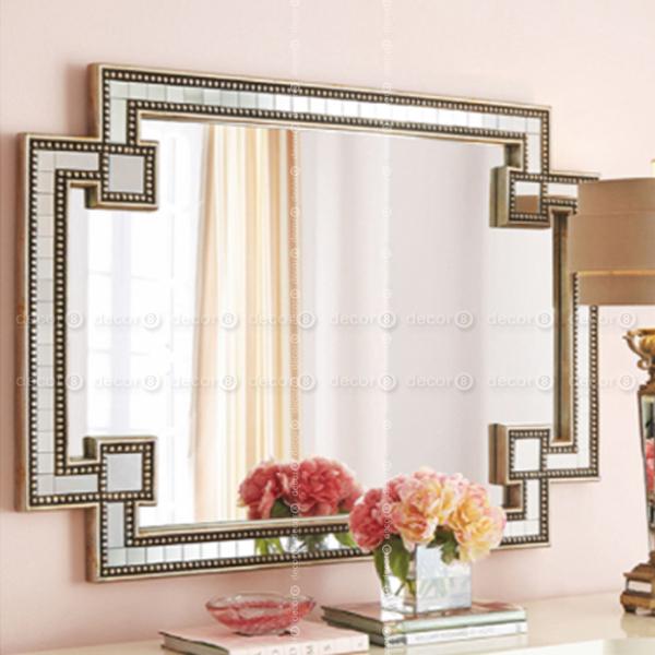 Hong Kong Accent Mirrors You'll Love   Decor8   Hk Mirrors & Wall Decor   Berwick Rectangle Mosaic Edge Accent Mirror For Accent Mirrors (View 7 of 20)